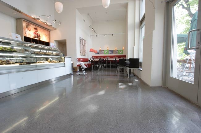 Mulford holdings polished concrete flooring for Polished concrete floors nz